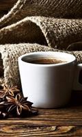 Dimex Cup of Coffee Vlies Fotobehang 150x250cm 2-banen