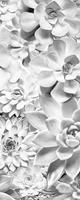 Komar Shades Black and White Vlies Fotobehang 100x250cm 1-baan