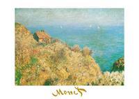 PGM Claude Monet - La casa dei doganieri Kunstdruk 70x50cm