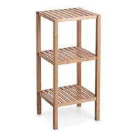 Zeller - Rack With 3 Shelves, Bamboo