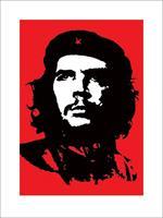 Che Guevara Red Kunstdruk 60x80cm