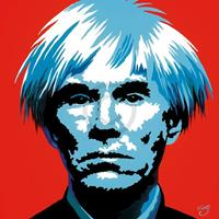 Vladimir Gorsky - Andy Warhol Kunstdruk 85x85cm