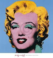 Andy Warhol - Shot Blue Marilyn Kunstdruk 65x71cm