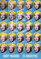 Andy Warhol - 25 Colored Marilyns Kunstdruk 45x65cm