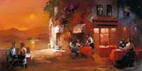 Willem Haenraets - Dinner for two I Kunstdruk 100x50cm
