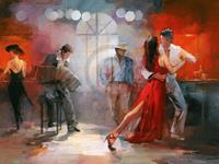 Willem Haenraets - Tango Kunstdruk 80x60cm