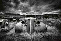 Old Classic Car Vlies Fotobehang 384x260cm 8-banen