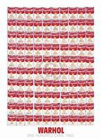 Andy Warhol - One Hundred Cans 1962 Kunstdruk 65x90cm