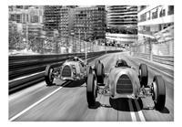 Monte Carlo Race Vlies Fotobehang 300x210cm