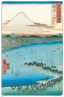 Hiroshige The Pine Beach at Miho Poster 61x91,5cm