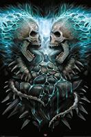 Spiral Flaming Spine Poster 61x91,5cm