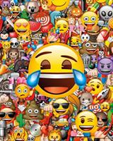 GBeye Emoji Collage Poster 40x50cm