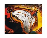 Salvador Dali - Les montres molles Kunstdruk 50x40cm