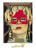 Salvador Dali - Il volto di Mae West Kunstdruk 60x80cm
