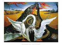 Salvador Dali - Bacchanale Kunstdruk 80x60cm