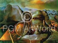 Salvador Dali - L'enigme sans fin, 1938 Kunstdruk 80x60cm
