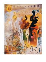 Salvador Dali - El torero hallucinogene Kunstdruk 60x80cm